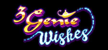 3 Genie Wishes Slot Logo Slots Baby