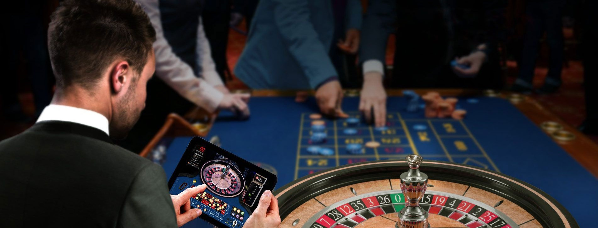 roulette being played