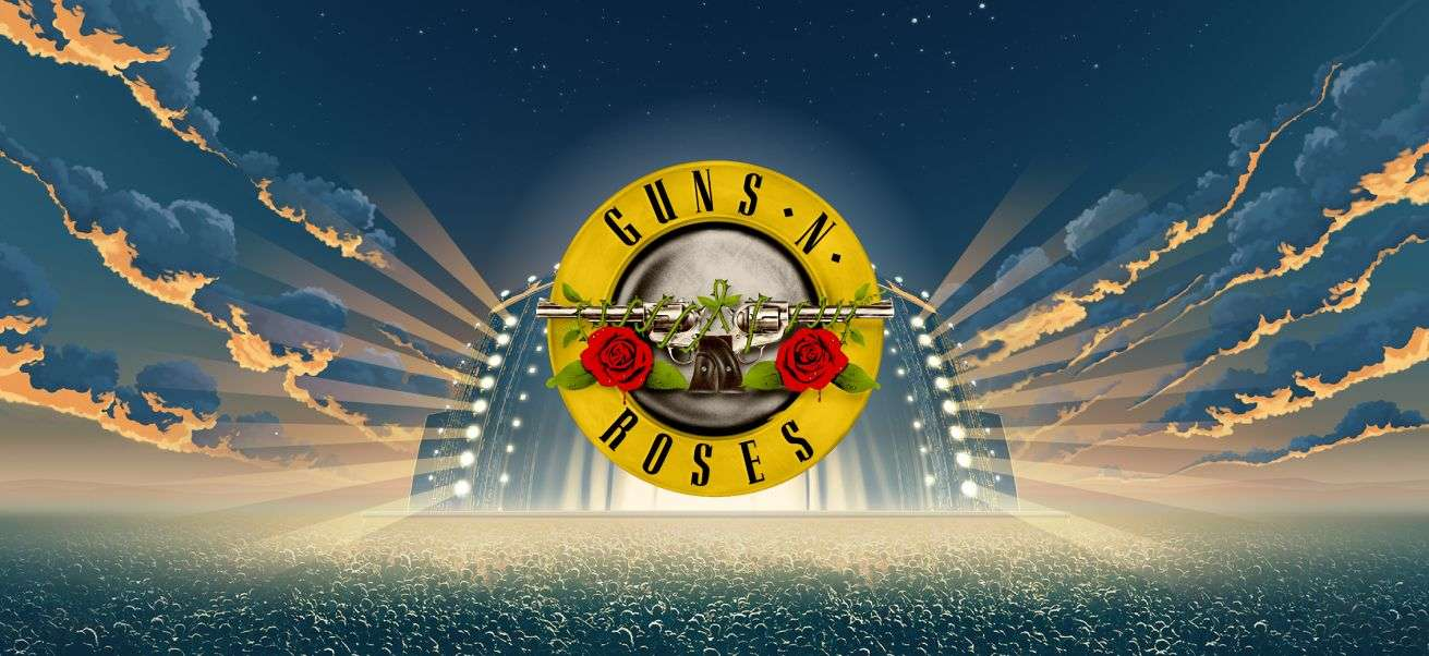 Guns N' Roses Video Slot Logo Slots Baby