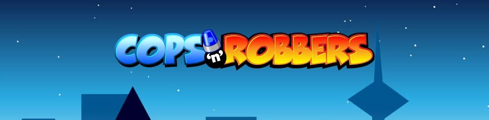 Cops and Robbers Slot Logo Slots Baby