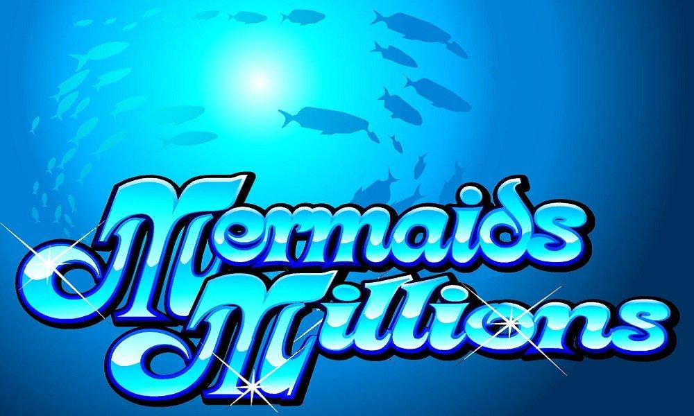 Mermaids Millions Slot Logo Slots Baby
