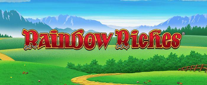 Rainbow Riches Slot Logo Slots Baby